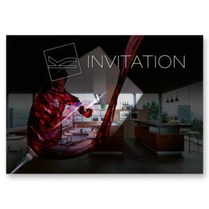 Meubles Kolly Event La Couleur du Vin - invitation