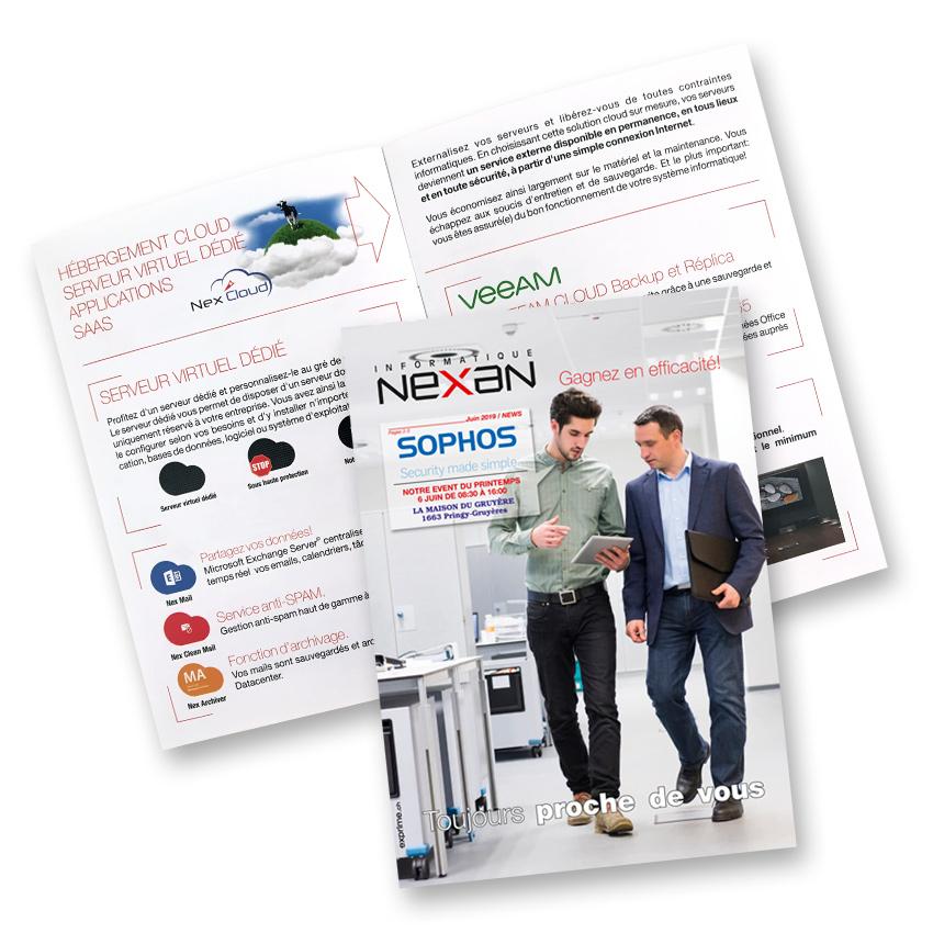 Brochure A5 Nexan by exprime