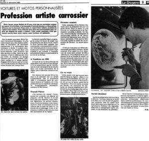 Elvis Caroni archive designer aérographe