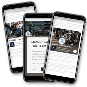 Campagne Digitale Google Ads - Peugeot Django
